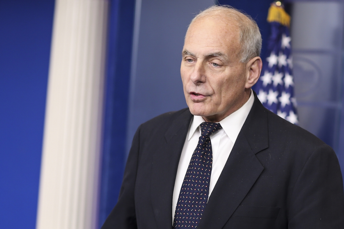 Let's Compare John Kelly's Lie About Rep. Frederica Wilson With Reality