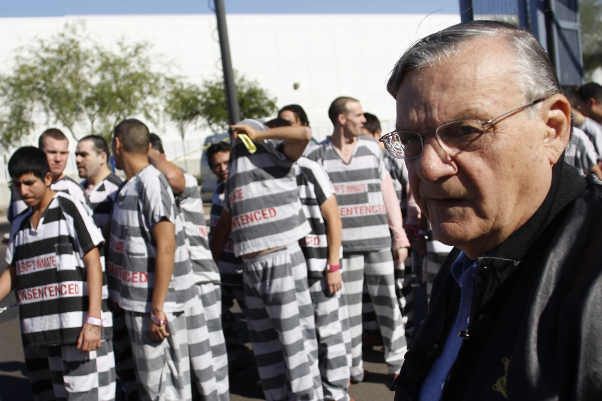 In New Ruling, Federal Judge Refuses to Erase Joe Arpaio's Conviction