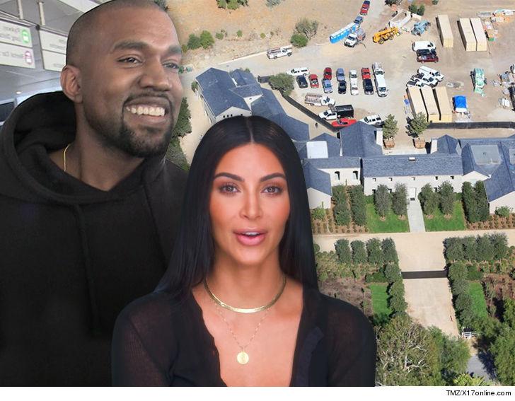 Kim Kardashian and Kanye West Profit By $20 Million on Hidden Hills Mansion