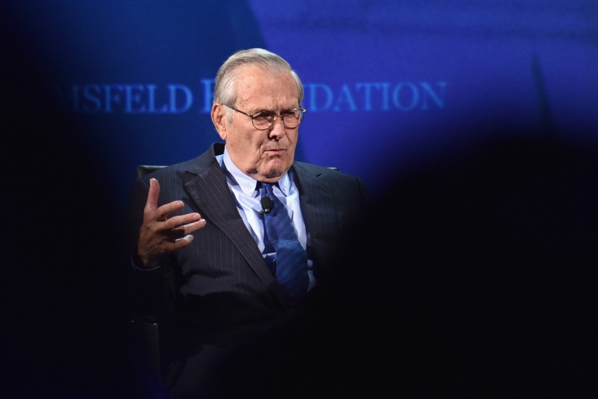 Two Months After U.S. Invaded Afghanistan, Donald Rumsfeld Asked What Languages Are Spoken There