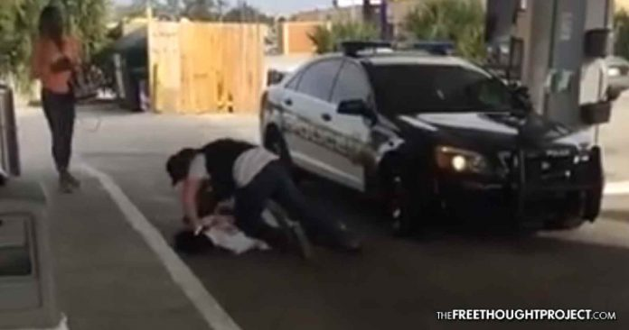 Disturbing Video Shows Cop Beating Handcuffed Man for No Reason—Cop Suspended