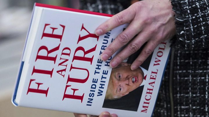 Fire and Fury: Trump book row overshadows Republican summit
