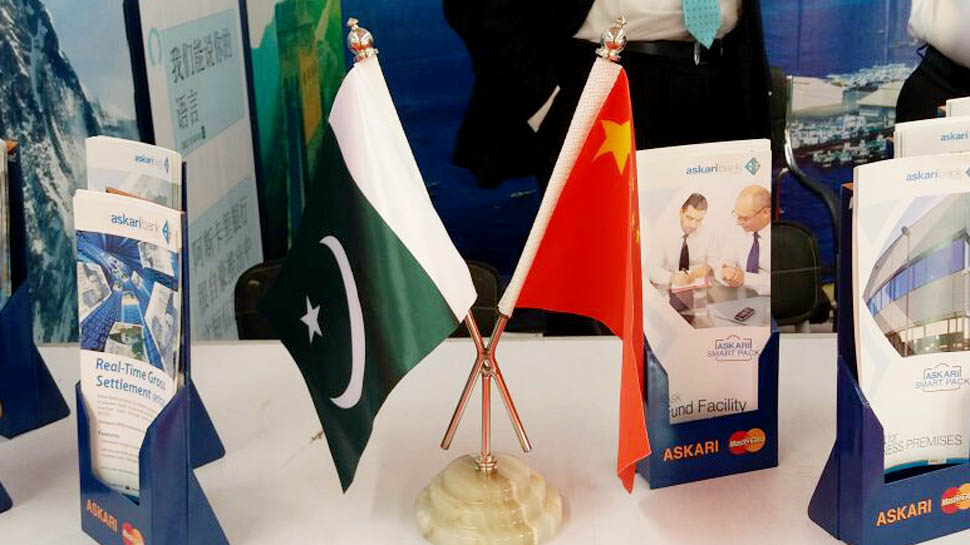 China embarrasses Pakistan at CPEC expo with huge poster showing Kashmir as part of India