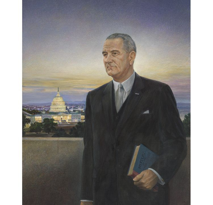 "The Presidential Depiction That had been the ""Ugliest Thing"" LBJ Ever Saw"