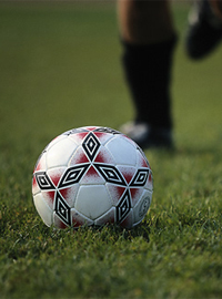Researchers are studying soccer player's quick recovery from injury.