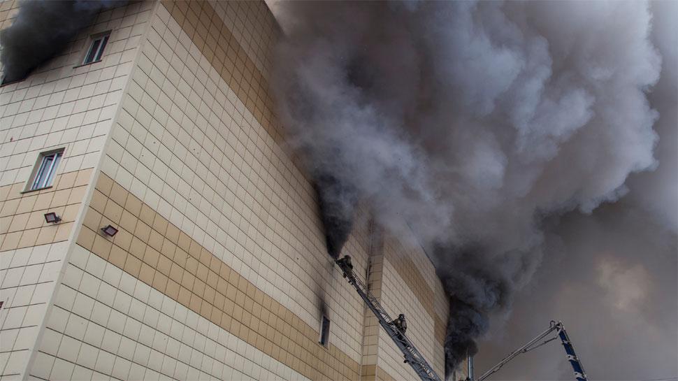 Putin calls mall fire 'criminal negligence', vows punishment