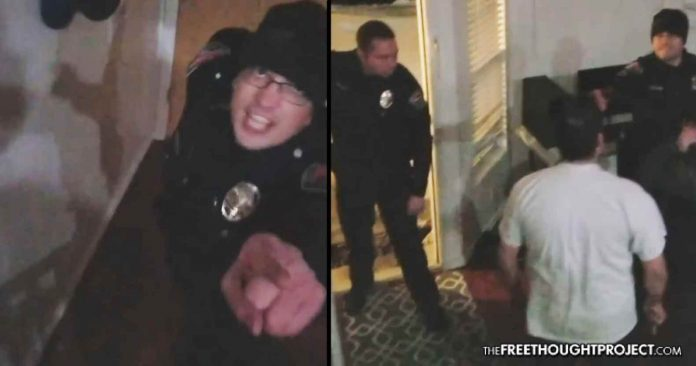 WATCH: Cops Attack Innocent Family As They Grieve the Death of 2-Month-Old Son