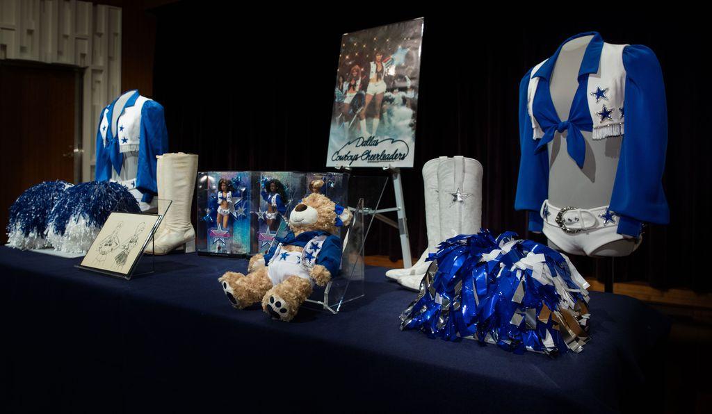 A traditional American Cheerleading Ensemble Knocks to Smithsonian Immortality