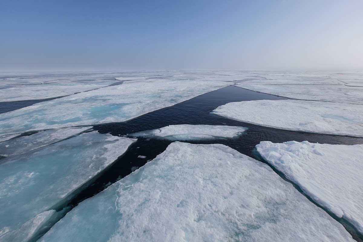 Record low Arctic ice linked to freak weather in US, Europe
