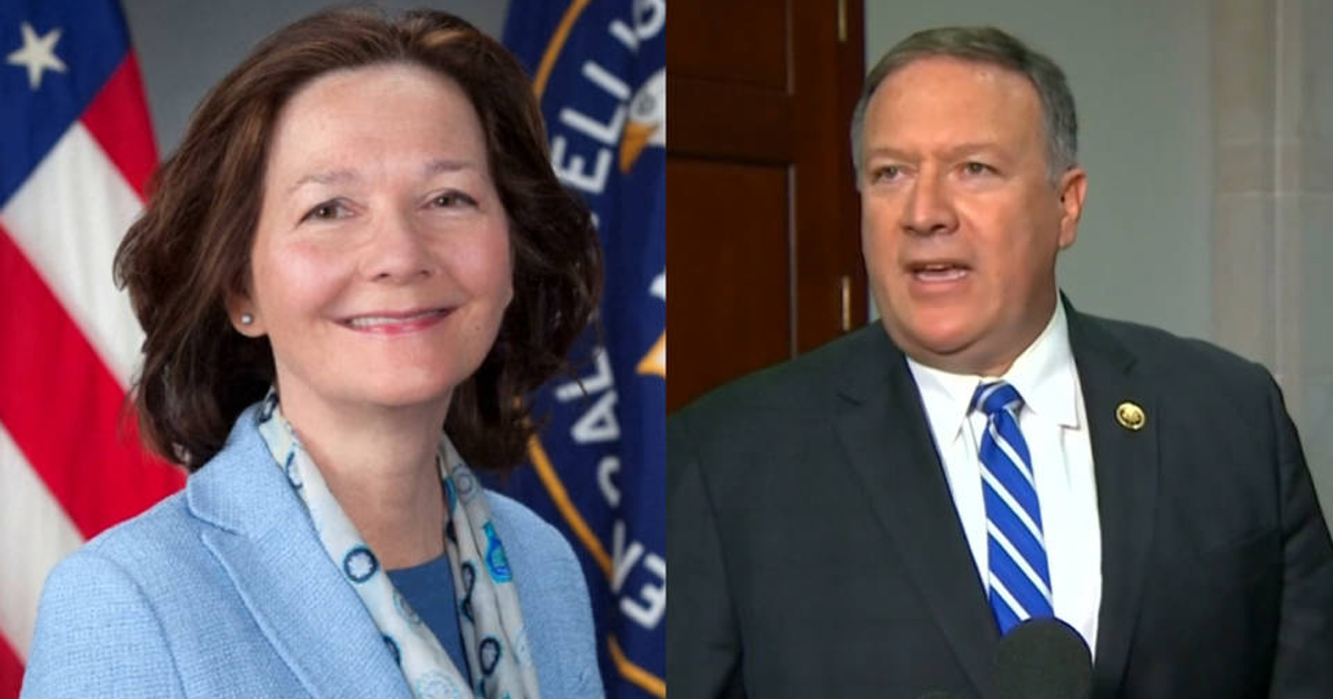 Pompeo and Haspel are Symptoms of a Deeper Problem