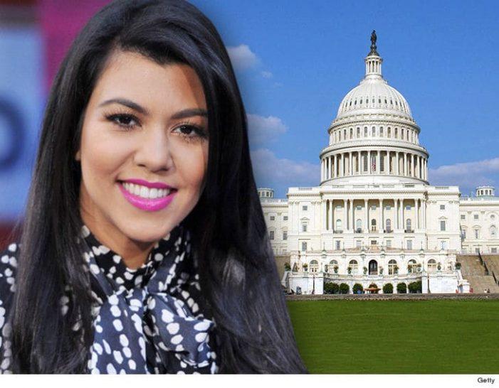 Kourtney Kardashian To Meet With Congress Over Cosmetics Regulation