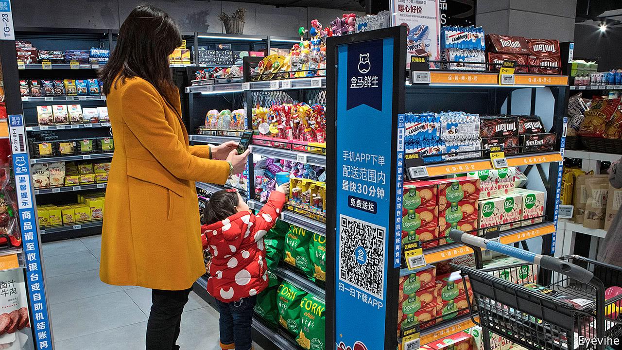 Online retailers go offline in China