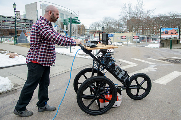 'Cognitive' ground-penetrating radar could improve inspections for urban development