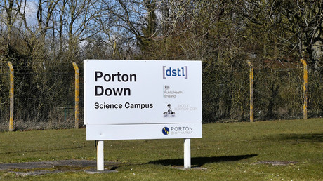 Porton Down facility, near Salisbury.