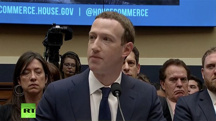 Zuckerberg faces Congress for 2nd day of hearing (WATCH LIVE)