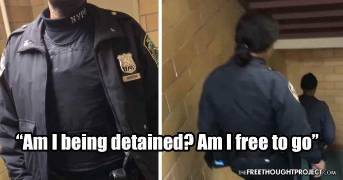 WATCH: Teen Flexes His Rights and Owns Two Cops Harassing Him for No Reason
