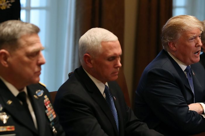 Donald Trump Ordered Syria Strike Based on a Secret Legal Justification Even Congress Can't See