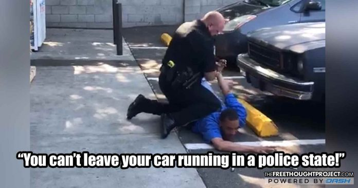 WATCH: Cops Now Kidnapping and Caging People for Leaving Their Cars Running