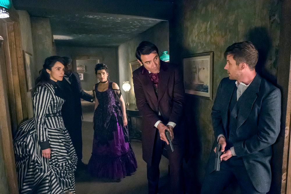 "Pilot, Thinker, Soldier, Spy: The Epic ""Timeless"" Season Finale Twofer"