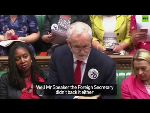 Corbyn hammers millionaire Tory Brexiteers shifting their cash out of Britain (VIDEO)