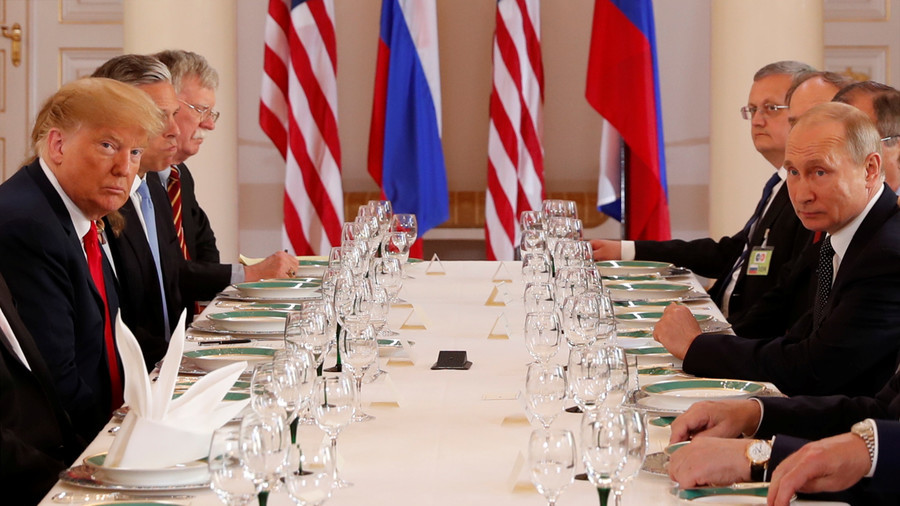 One-on-one meeting with Putin a 'good start,' Trump says after over 2 hours of tete-a-tete talks