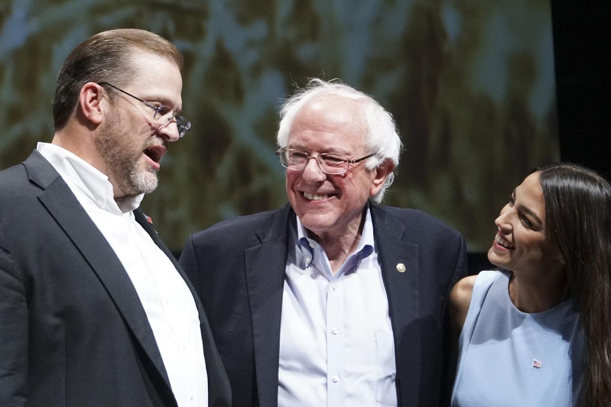 Bernie Sanders and Alexandria Ocasio-Cortez Went to War With Partisanship in Kansas