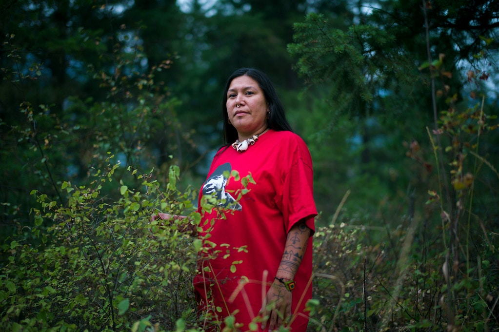 Calling themselves the Tiny House Warriors, a group of Indigenous Secwepemc people from Canada are building tiny houses in the path of the massive Kinder Morgan tar sands oil pipeline's planned route through their territory. The house is a symbol of the home they are fighting to protect, creating hope and community in the face of destruction.