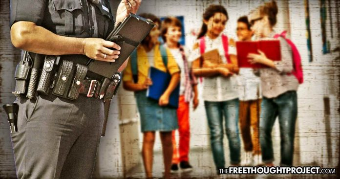 School Strip-Searches 6th Grade Girls' Class After Cop Accused them of Hiding $50 in Their Underwear