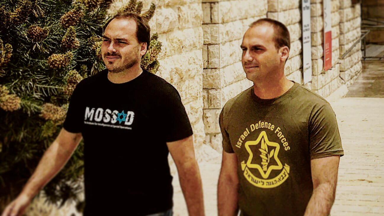 Brazil Israel | Bolsonaro's sons