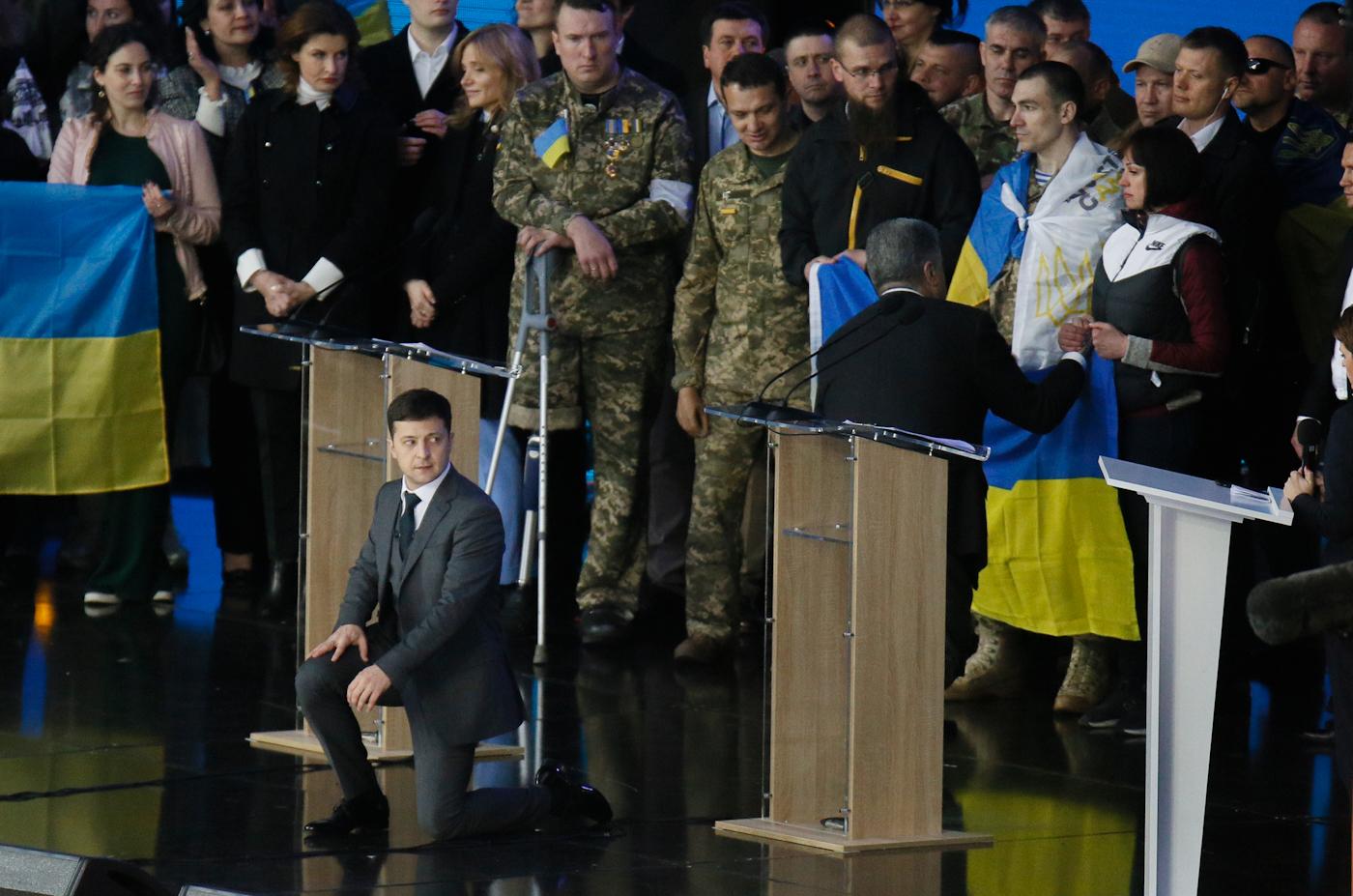 Petro Poroshenko | Volodymyr Zelenskiy