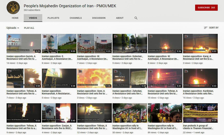 MEK youtube fires