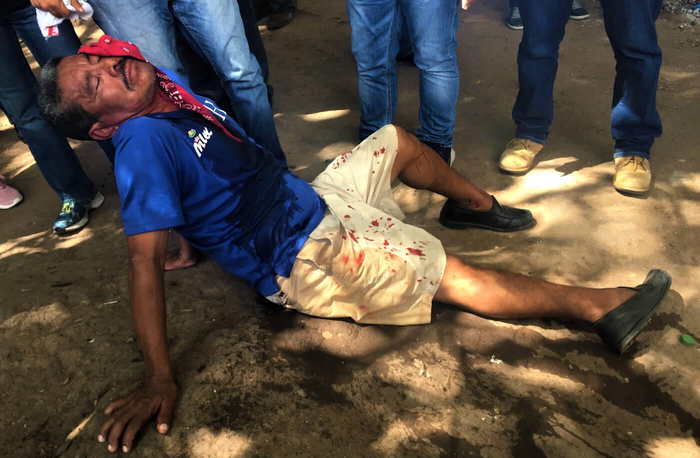 Honduras Protest police