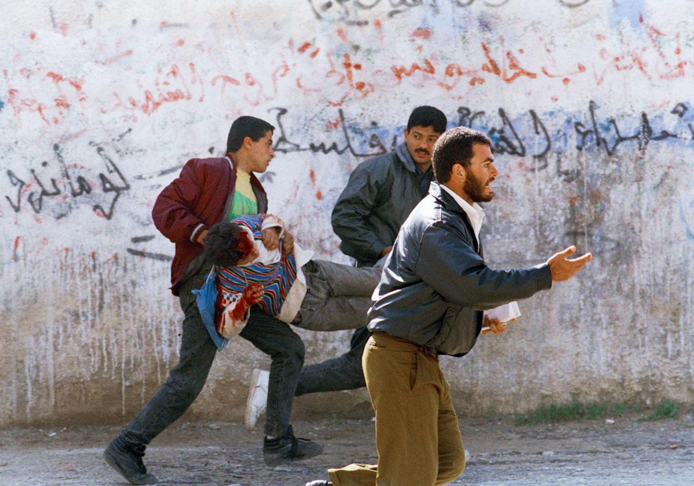 Israel Palestinians 1994