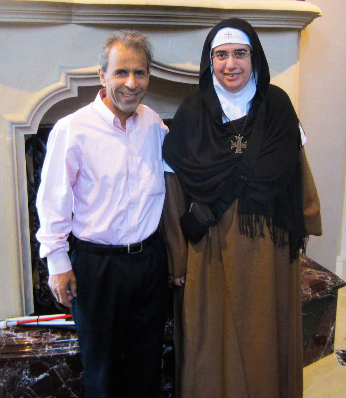 Hisham Ahmed Mother Agnes Mariam