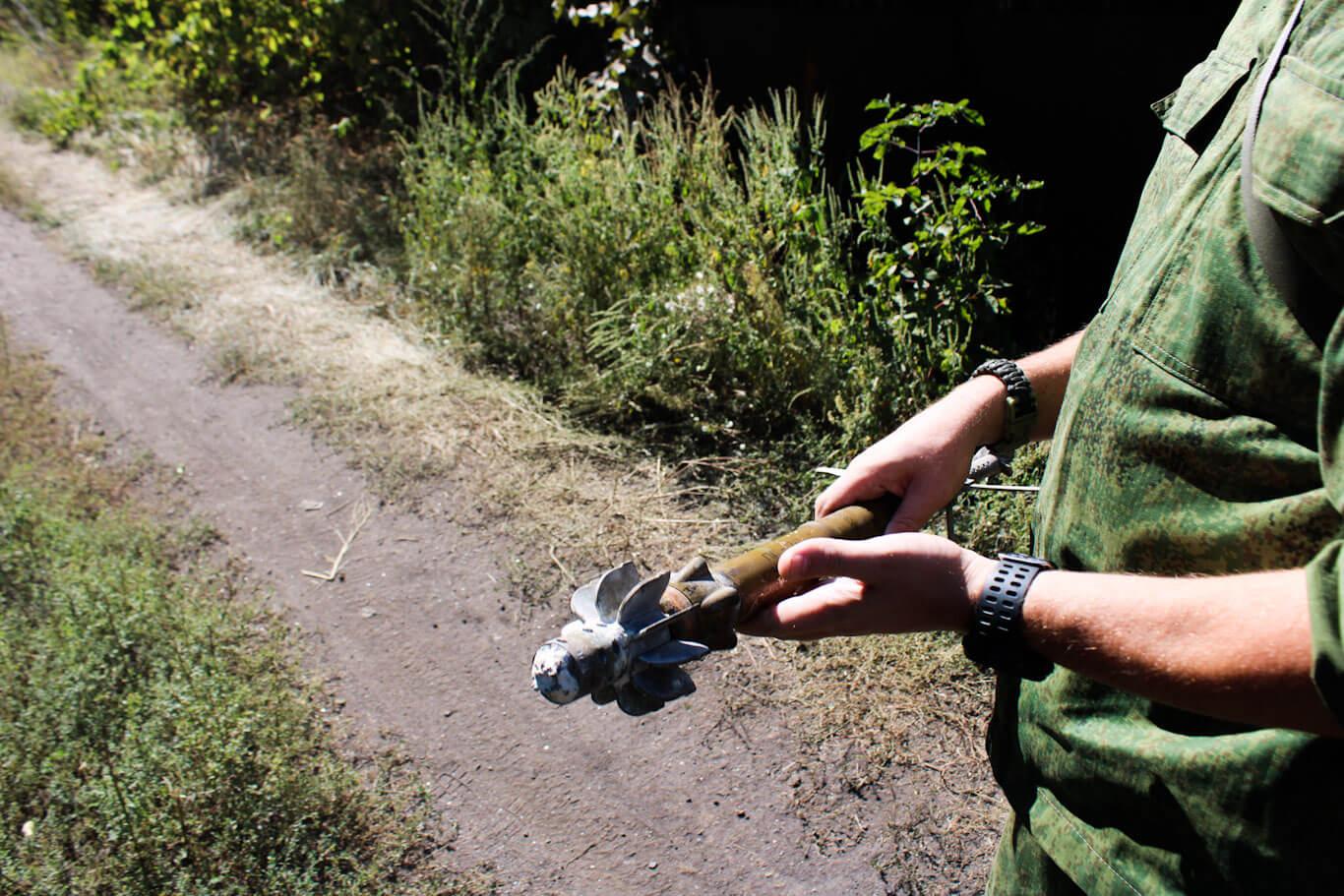 Donbass War Diary Mortar