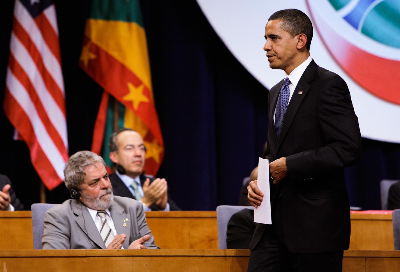 Luiz Inacio Lula da Silva and Obama
