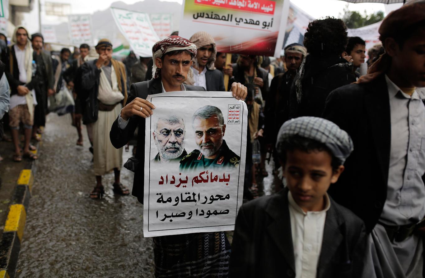 Yemen Soleimani assassination
