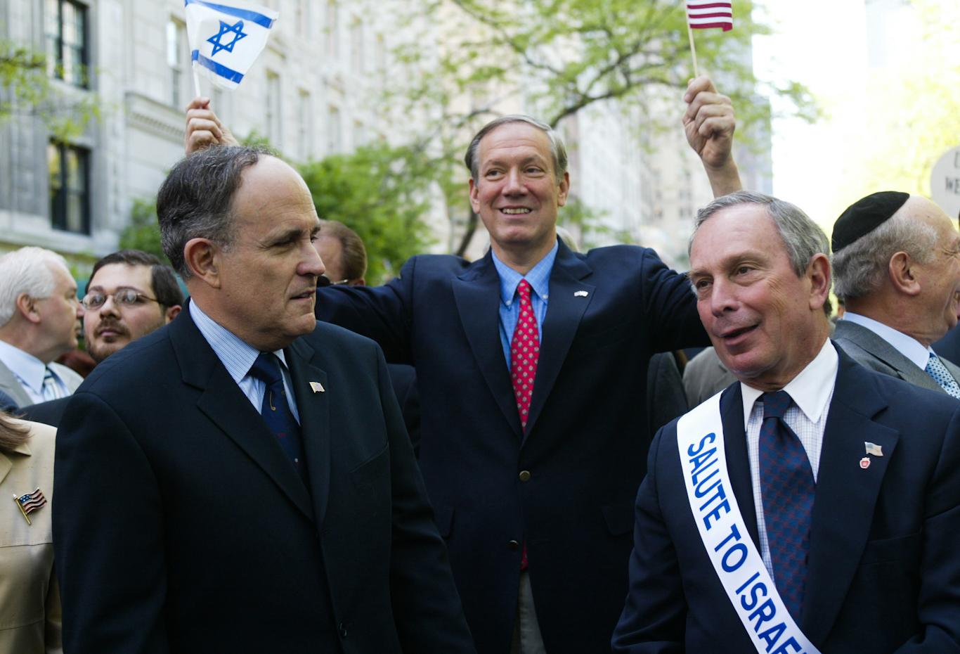 Mike Bloomberg Israel