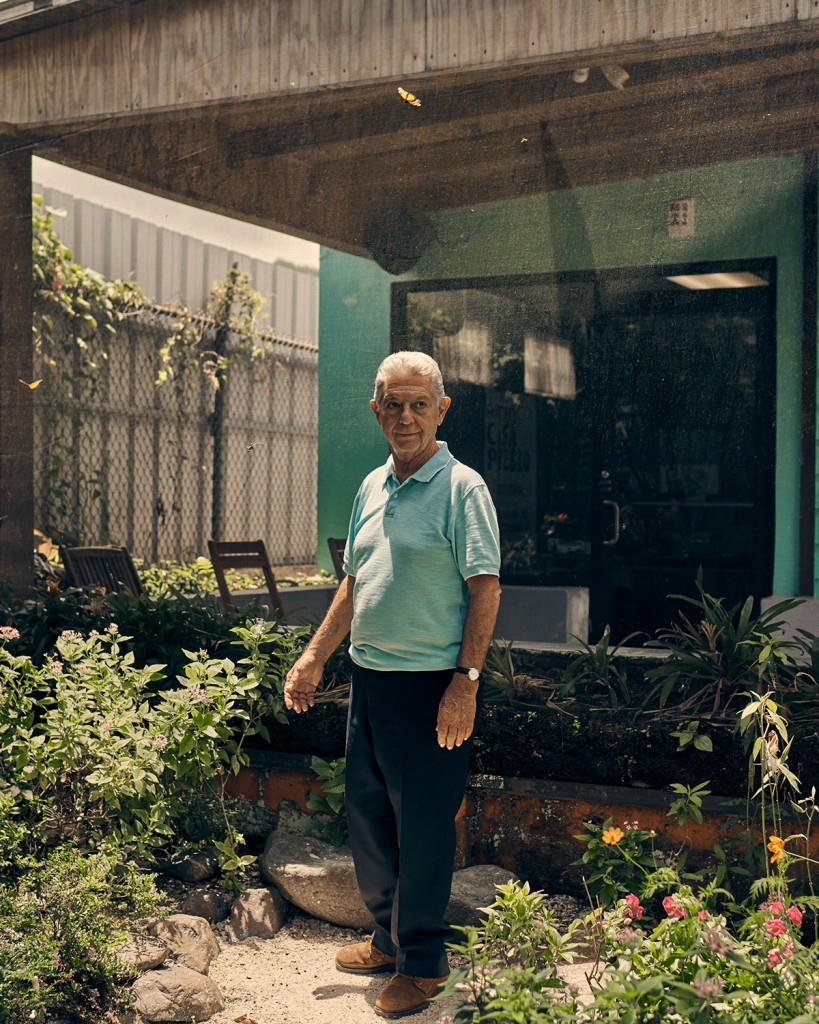 Adjuntas, Puerto Rico - 8/8/19: Alexis Massol González photographed at Casa Pueblo in Adjuntas, Puerto Rico. Alexis is the founder along with his wife Tinti of Casa Pueblo a community organization promoting sustainable energy and environmental protection.CREDIT: Christopher Gregory for The Intercept