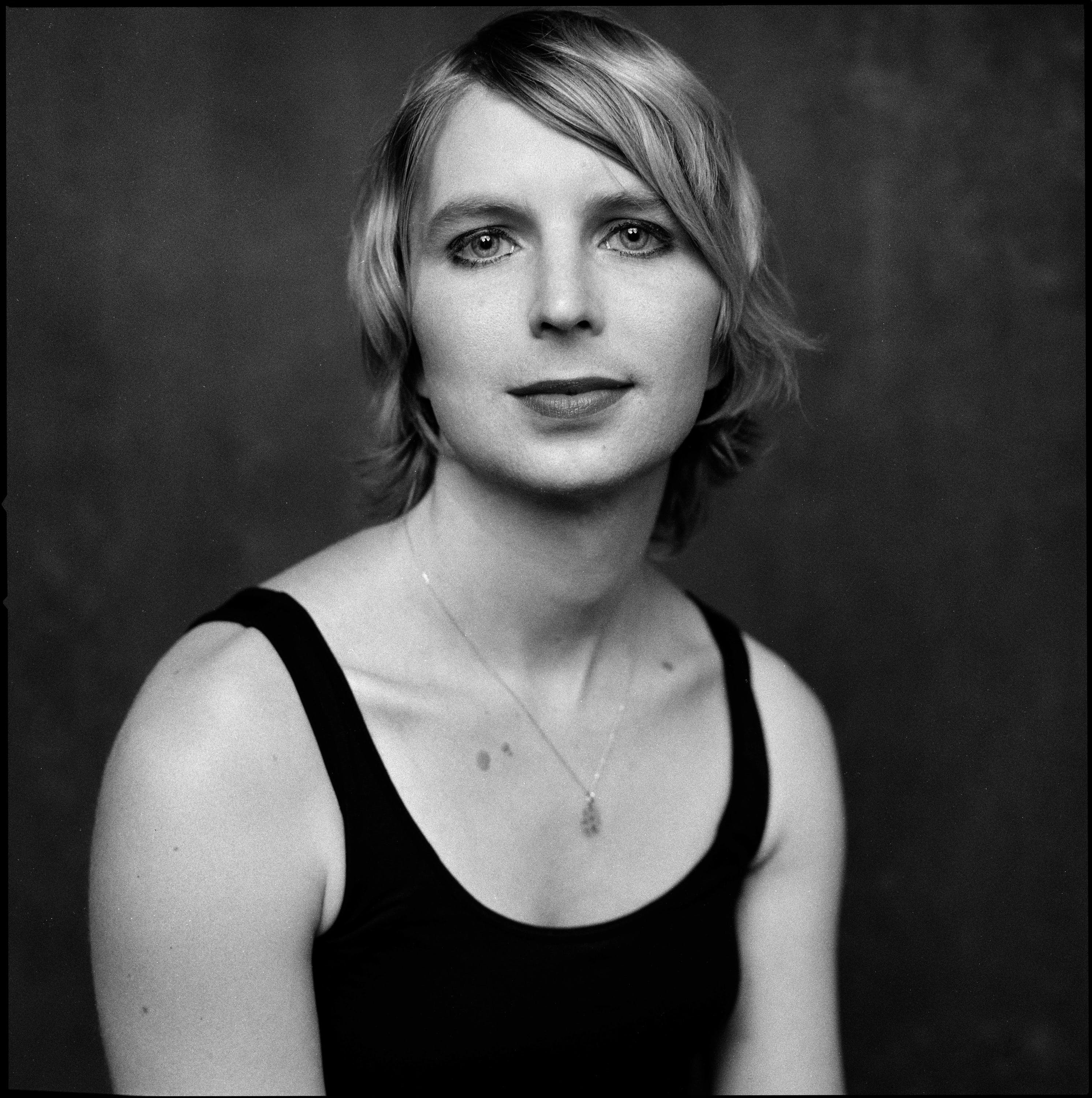Chelsea Manning, a former United States Army soldier who was convicted by court-martial in July 2013 of violations of the Espionage Act and other offenses, after disclosing to WikiLeaks nearly 750,000 classified, or unclassified but sensitive, military and diplomatic documents. Photographed in Washington DC.