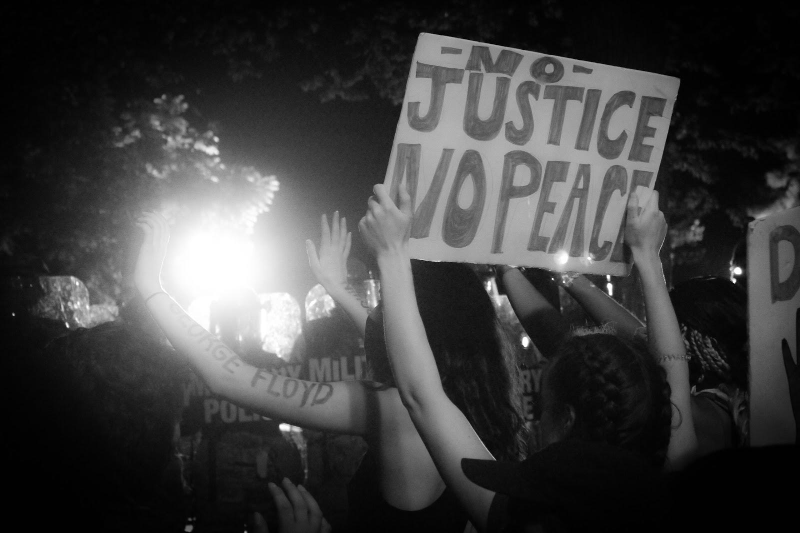 DC police protest