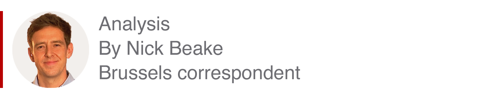 Analysis box by Nick Beake, Brussels correspondent