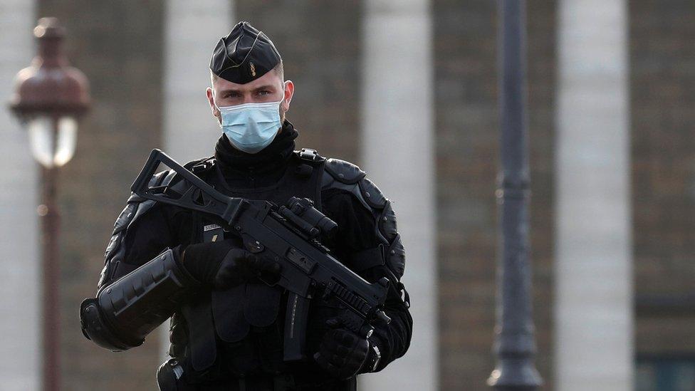 French gendarme