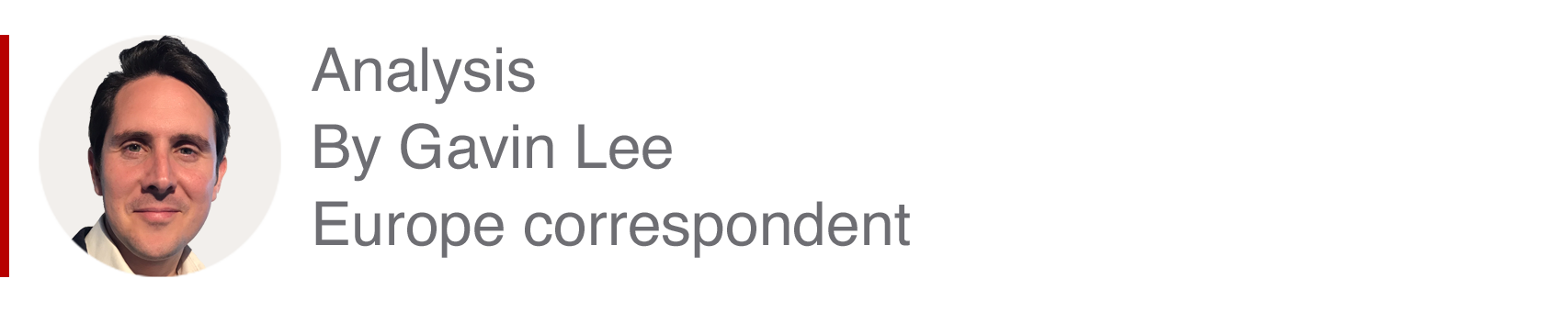 Analysis box by Gavin Lee, Europe correspondent
